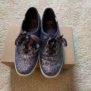 Kate Spade x Keds Glitter Keds size 6.5